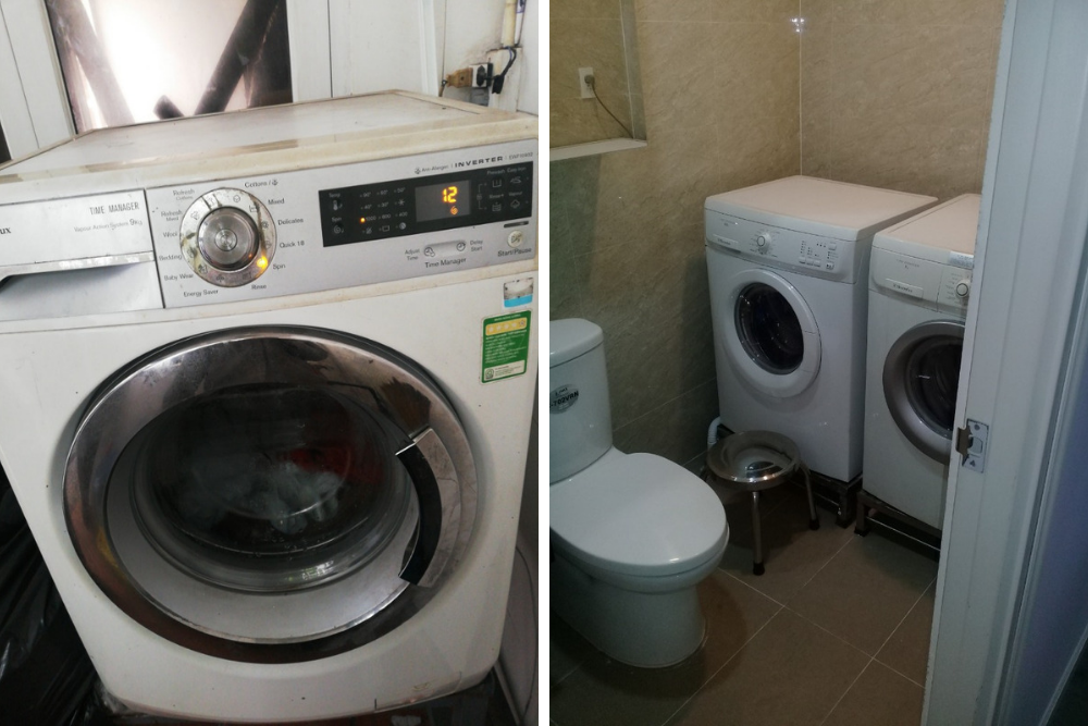 sua may giat electrolux